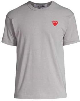 Comme des Garcons Small Heart Logo Tee