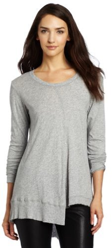 Wilt Women's Twisted Slouch Crew Knit Top