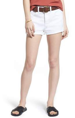 Treasure & Bond High Waist Cutoff Denim Shorts