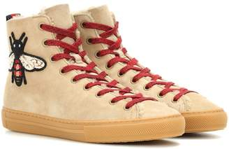 Gucci Suede high-top sneakers