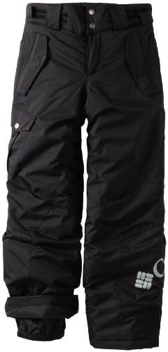 Columbia Boys 8-20 Bugaboo Pant, Black, 10/12