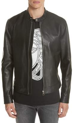 Versace Moto Leather Jacket