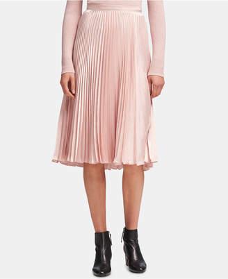 DKNY Pleated Pull-On Skirt