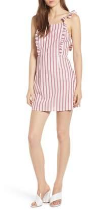 The Fifth Label Acacia Stripe Ruffle Dress