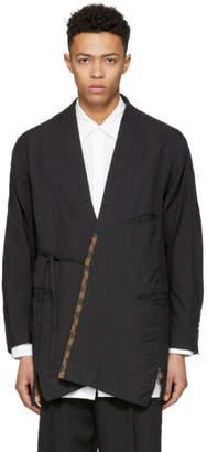 Ziggy Chen Black Kimono Cardigan