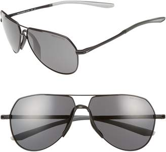 Nike Outrider 62mm Oversize Aviator Sunglasses