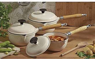 Laundry by Shelli Segal Cooks Professional 3Pc Cast Iron Pan Set
