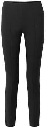 Akris Wool-blend Slim-leg Pants - Black