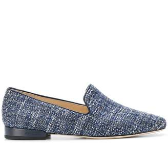 Jimmy Choo Jaida flat tweed slippers