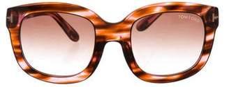 Tom Ford Christophe Oversize Sunglasses