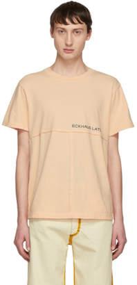Eckhaus Latta Orange Lapped T-Shirt