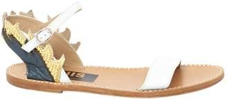 Golden Goose Leather Sandals