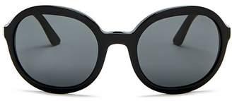 Prada Women's Round Sunglasses, 56mm