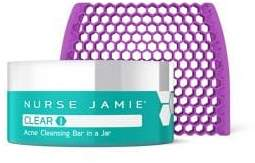 clear Nurse Jamie 1 Acne Cleansing Bar in a Jar/2 oz.