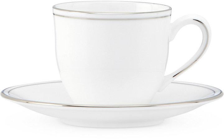 Lenox Federal Platinum Espresso Cup and Saucer Set