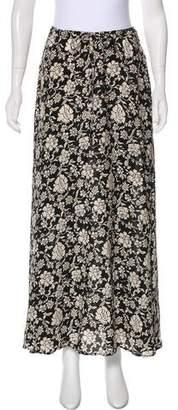 Winter Kate Floral Print Midi Skirt