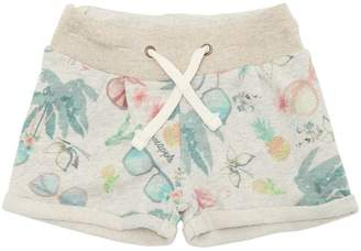 American Outfitters Printed Cotton Sweat Shorts