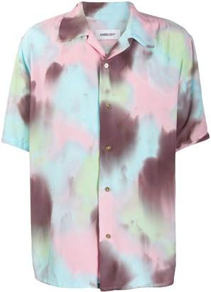 Ambush Hawaiian tie-dye shirt