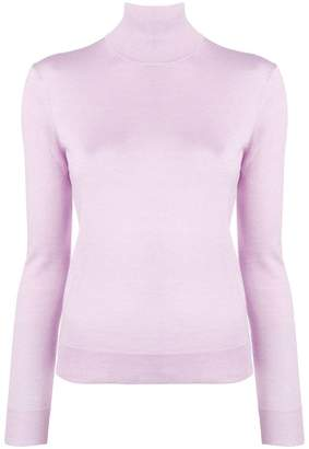 Theory long sleeved turtle neck jumper