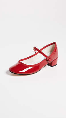 Repetto Rose Mary Jane Pumps
