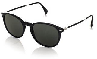 Giorgio Armani Women's 858/S0CSA Sunglasses, Black/Palladium