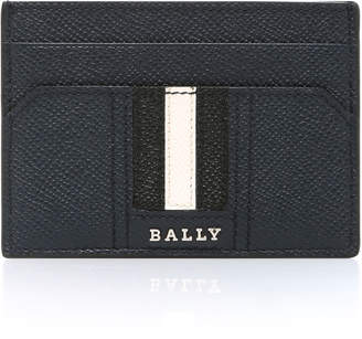 Bally Navy Money Clip Card Holder