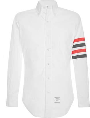 Thom Browne Striped Cotton Oxford Shirt