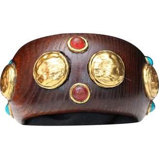 Chanel Wood Bracelet