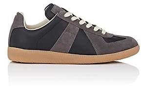 "Maison Margiela Women's ""Replica"" Leather & Suede Sneakers - Black"