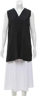 Hache Sleeveless Oversize Tunic