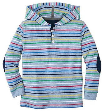 Boys Striped Hoodie Tee In Supersoft Jersey $42 thestylecure.com
