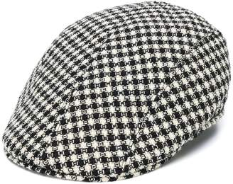 Altea textured gingham patterned hat