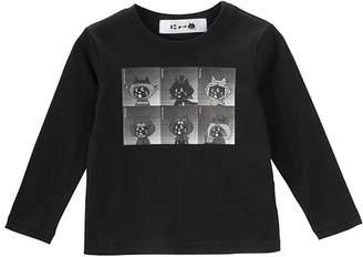 にゃー / キッズ ホラースターにゃー T / Tシャツ