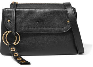 See by Chloe Phill Textured-leather Shoulder Bag - Black