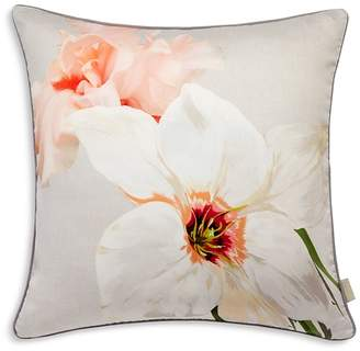 "Ted Baker Chatsworth Bloom Decorative Pillow, 18"" x 18"""