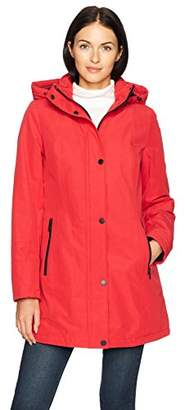 Pendleton Women's Zip Front Hooded Techrain Coat