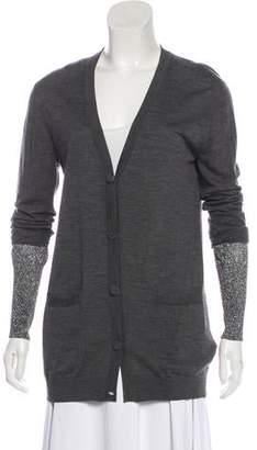 Allude Wool Knit Cardigan