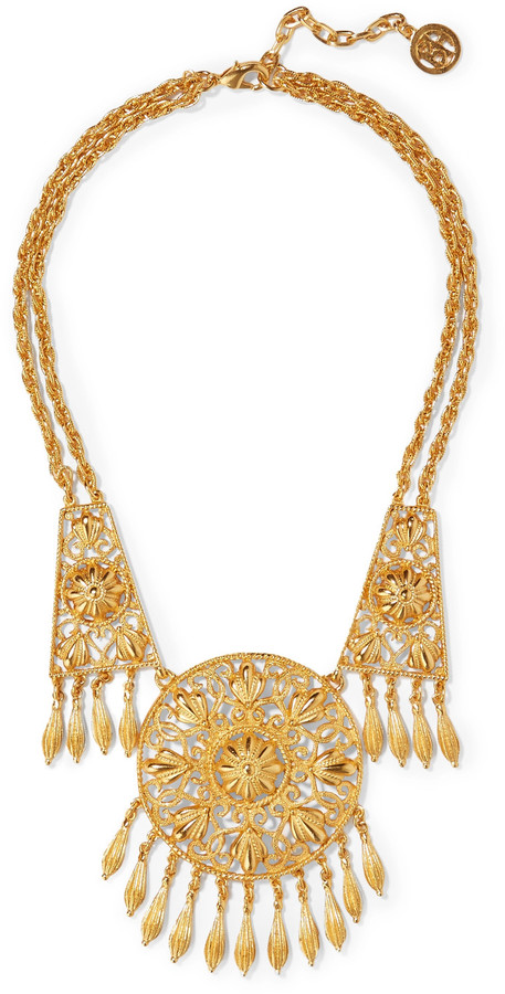 Ben-Amun Ben-Amun Gold-tone necklace