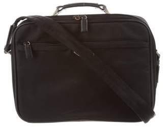 Prada Structured Nylon Briefcase