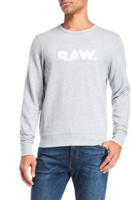 G Star Raw Crew Neck Pullover