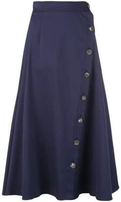 Carolina Herrera buttoned midi skirt