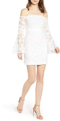 Endless Rose Off the Shoulder Lace Minidress