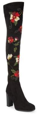 Sam Edelman Vena Embroidered Over-the-Knee Boots