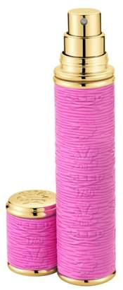 Creed Dark Pink with Gold Trim Leather Atomizer