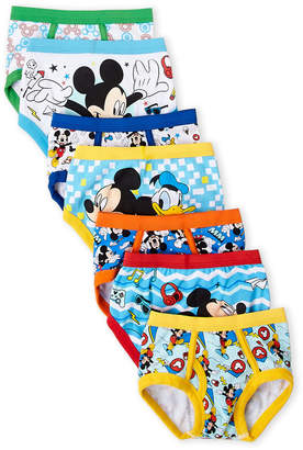 Mickey Mouse (Toddler Boys) 7-Pack Roadster Racers Briefs