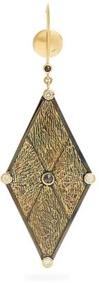 Kate Moss ARA VARTANIAN X diamond & gold single earring