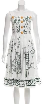 Dolce & Gabbana 2016 Garden Print Dress