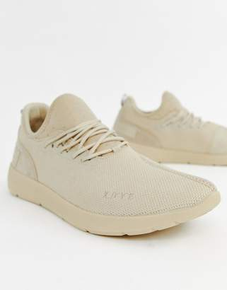 runner trainer in beige