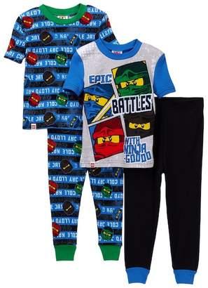 Lego SGI Apparel Ninjago Epic Battles Cotton PJs - Set of 2 (Little Boys & Big Boys)
