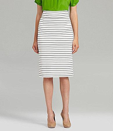 Antonio Melani Perla Stripe Pencil Skirt